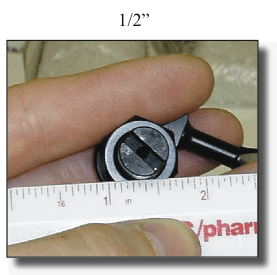 Half Inch Tuner Measurement
