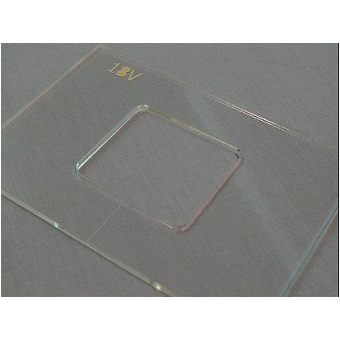 """Nordstrand 3/16"""" Thick Acrylic 18v Battery Box Template"""