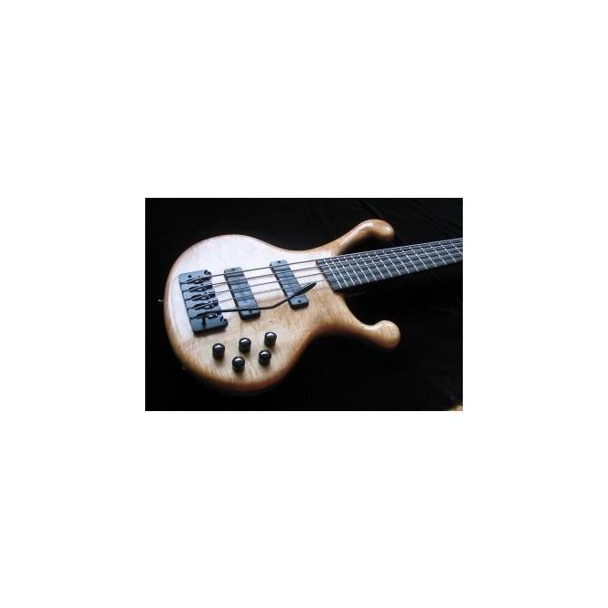 Hipshot Bass Tremolo 5String Piezo .669 Bridge Black 17mm Spacing