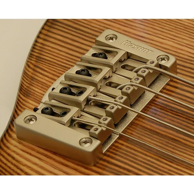 Hipshot Transtone 4String .750 Bass Bridge Satin 19mm Spacing