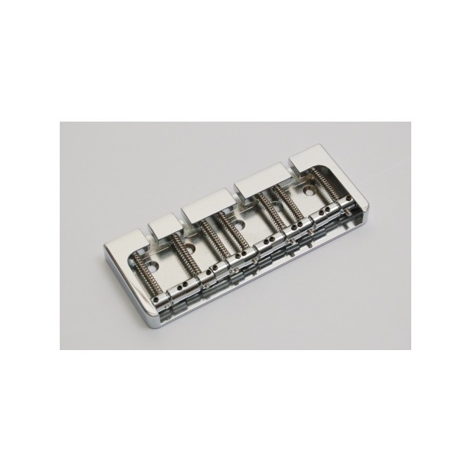 Hipshot BStyle 7String .708 Bass Bridge Aluminum Satin 18mm Spacing