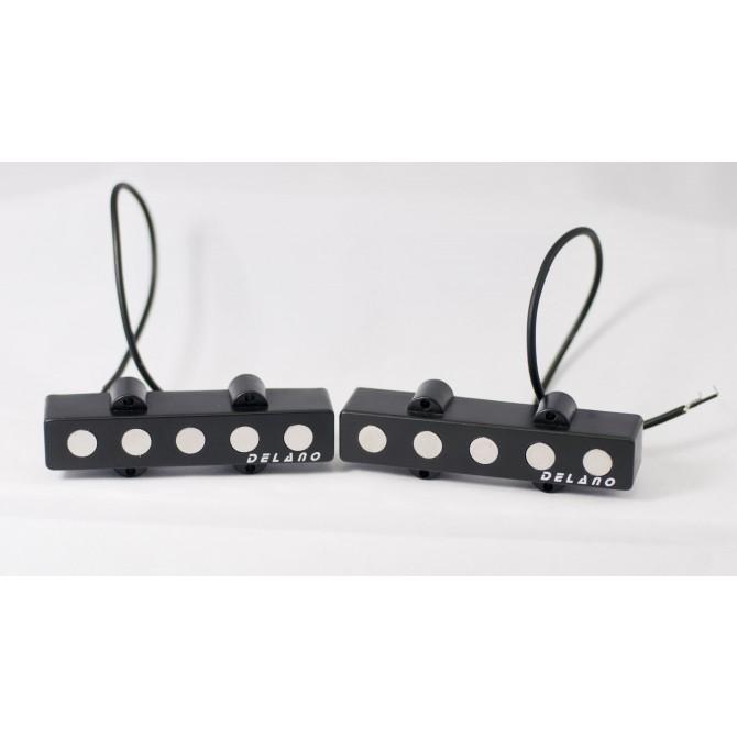 Delano JMVC5 FE/S 5 String Jazz L/S Size Single Coil Set