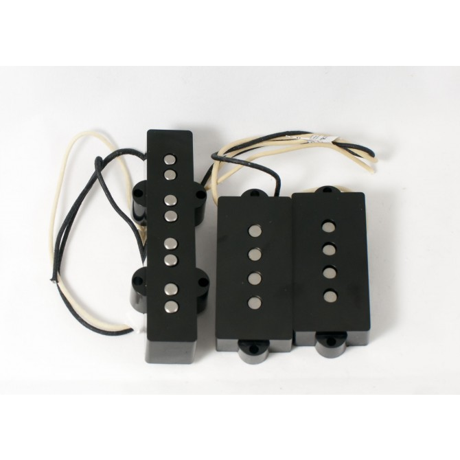 Lindy Fralin Split 4 P/J 4 String P/J Size Split Coil Set