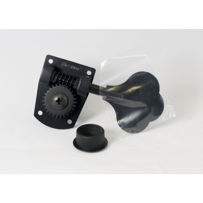 Hipshot HB7 Machine Head Tuner Black Bass Side