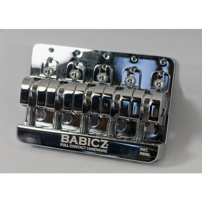 Babicz Full Contact Hardware - FCH-5BCHR - 5 string chrome bridge