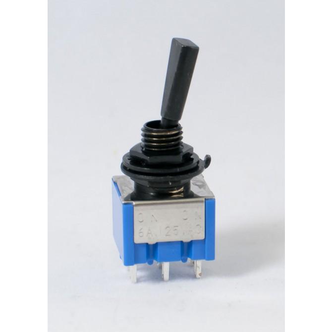 2-Way Switch - Flat Black On On Mini Switch flat