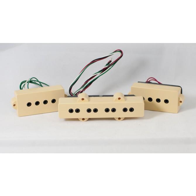 Dimarzio DP126-CR 4 String P/J Size Model J Split Coil Set