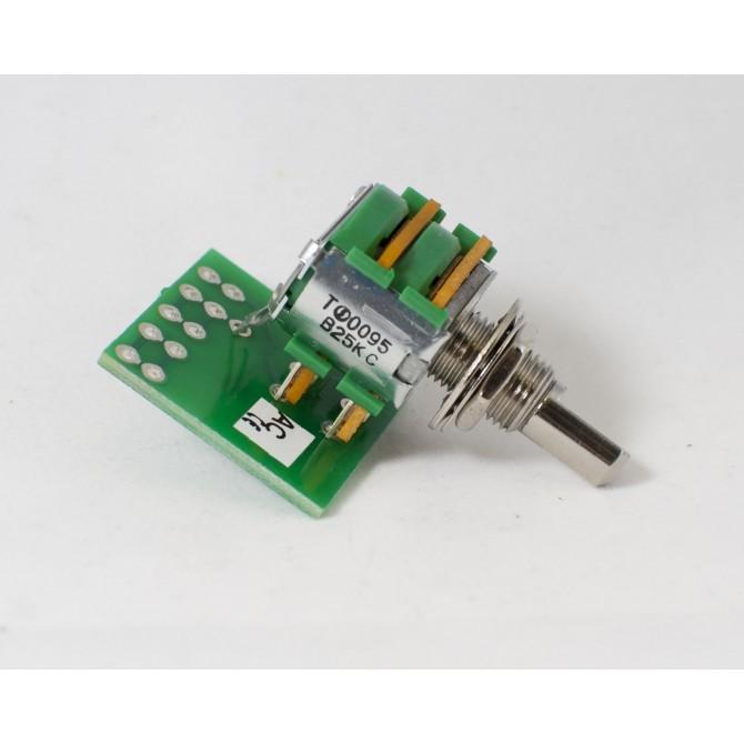EMG 25k Blend Potentiometer 6mm Solid Shaft
