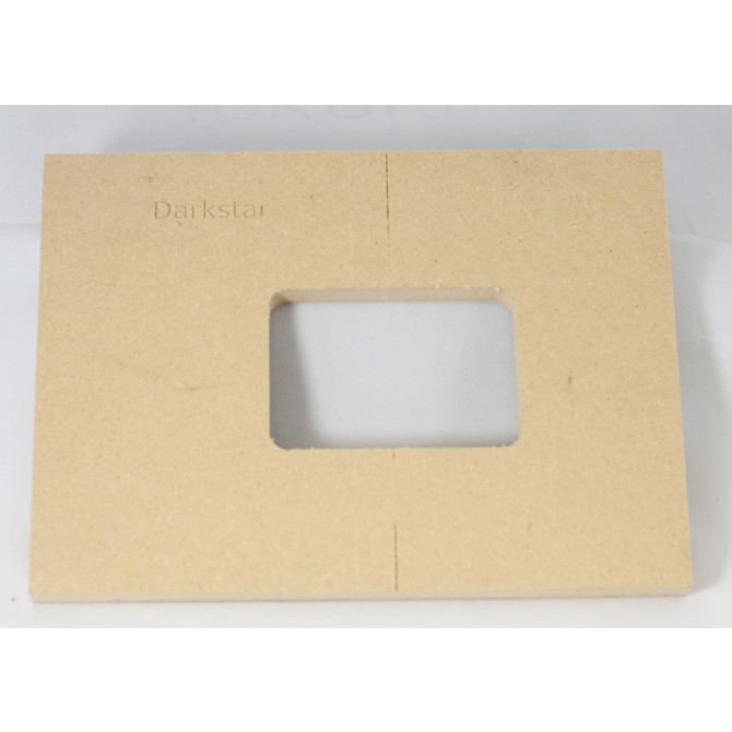 "Mike Plyler 1/2"" Thick MDF Darkstar Size Template"