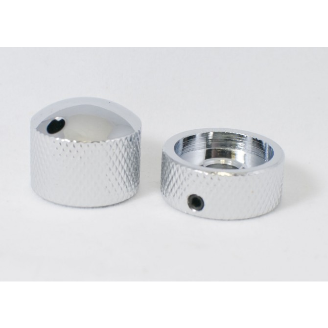 Glockenklang - Euro-Style Stacked Concentric Dome Knob - Chrome