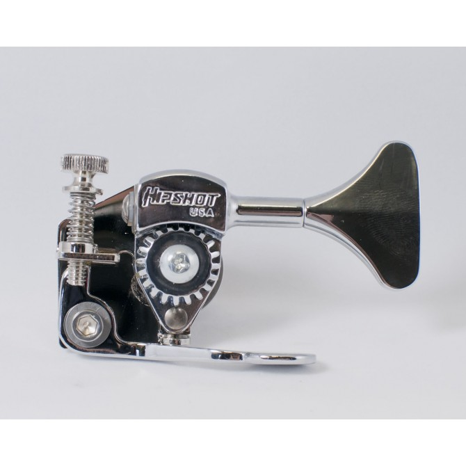 "Hipshot Bass Xtender HE6Y 1/2"" Nickel Bass Side"