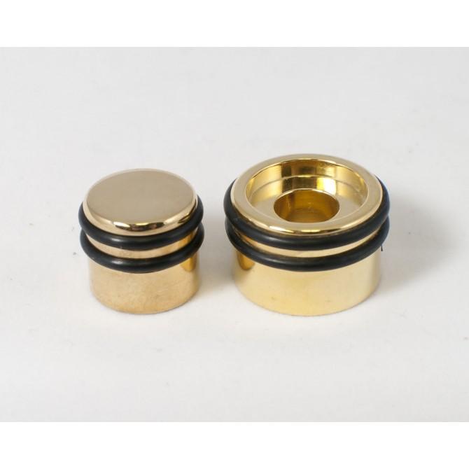 Hipshot Concentric Stack ORing Knob Gold