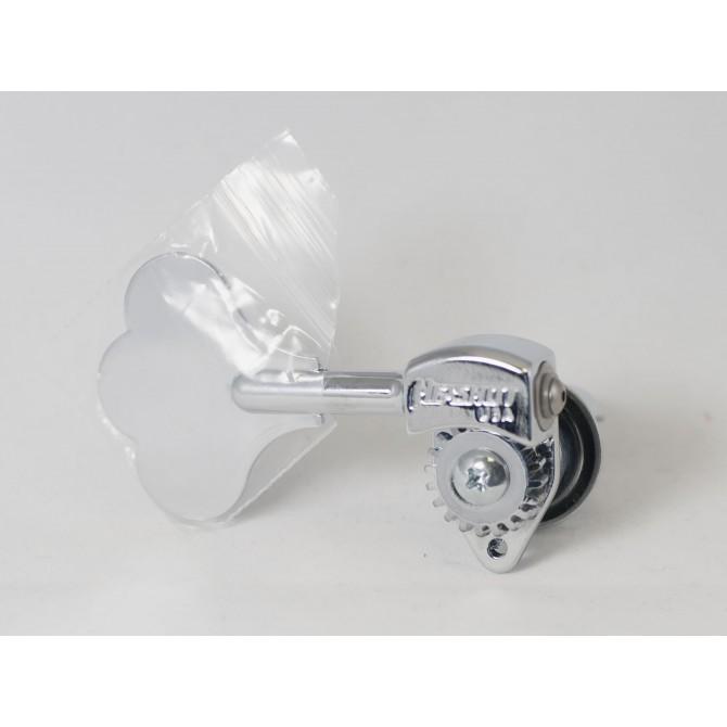 "Hipshot Ultralite Tuner HB6C 1/2"" Nickel Treble Side"