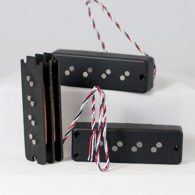 Nordstrand Fat Stack 4 String Stacked Coil Set