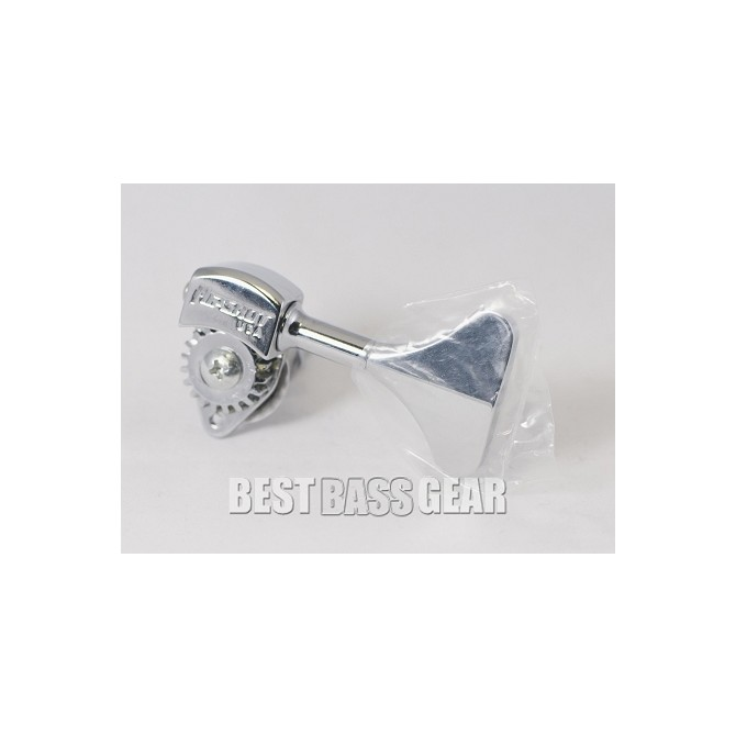 Hipshot Ultralite Tuner HB6Y 3/8 Shiny Nickel Bass Side SHORT KEY