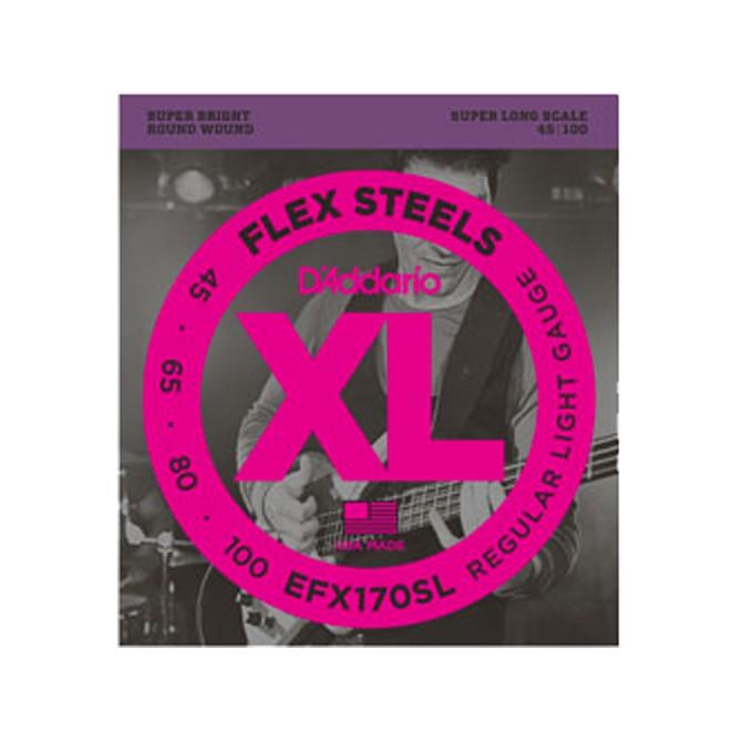 Daddario FlexSteels Series - EFX170SL 4 String Set (Discontinued by Manufacturer)