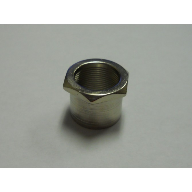 "Hipshot Ultralite 1/2"" Tuner Replacement Bushing .660"" Nickel"