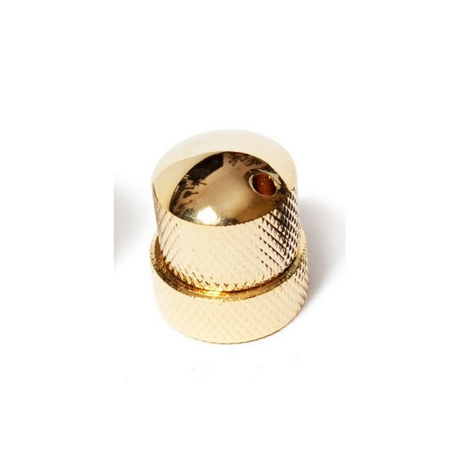 Noll Concentric Stacked Dome Knob (Gold)