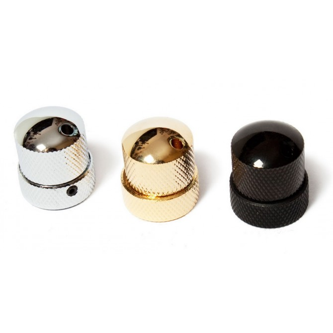 Noll Concentric Stacked Dome Knob