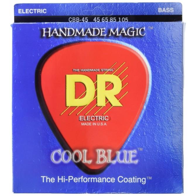DR CBB-45 Cool Blue 4 String Medium (45 - 65 - 85 - 105) Long Scale