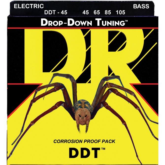 DR DDT-45 Drop Down Tuning 4 String Medium (45 - 65 - 85 - 105) Long Scale