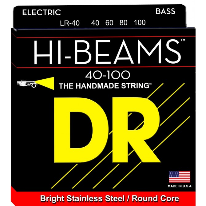DR LR-40 Hi Beam 4 String Light (40 - 60 - 80 - 100) Long Scale