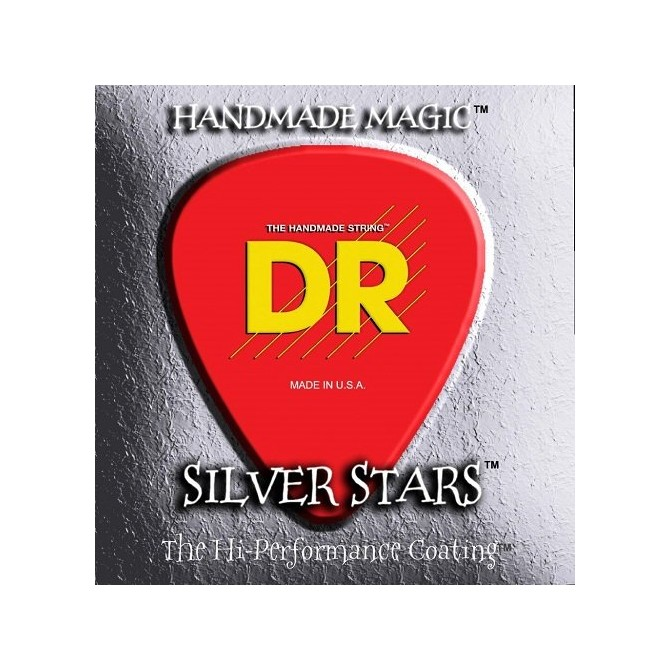 DR SIB-45 Silver Stars 4 String Medium (45 - 65 - 85 - 105) Long Scale
