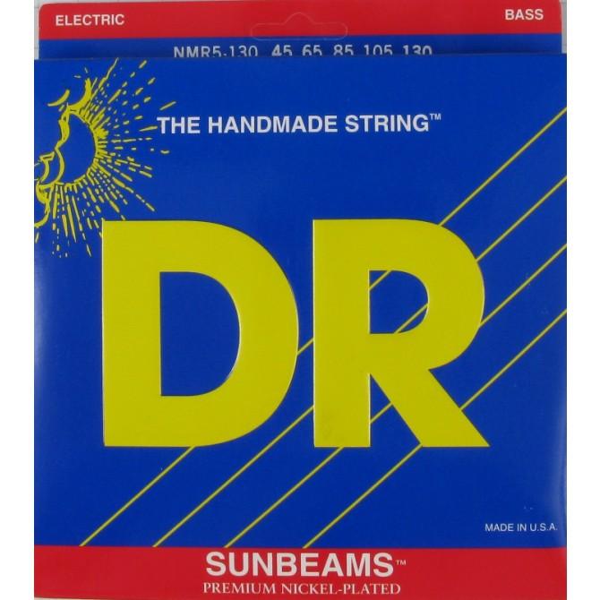 DR NMR5-130 Sunbeam 5 String Medium (45 - 65 -85 - 105 - 130) Long Scale