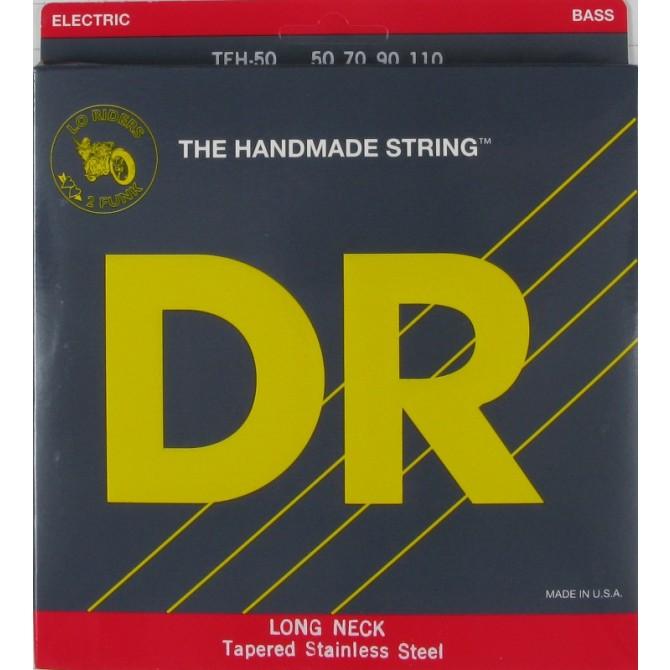 DR TEH-50 Long Necks 4 String Heavy (50 - 70 - 90 - 110) Long Scale
