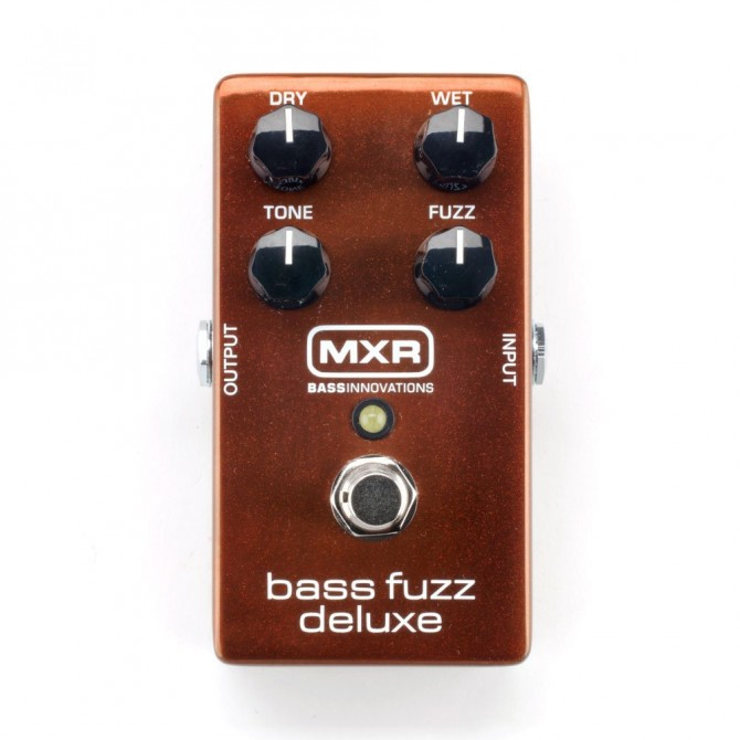 MXR Bass Innovations M84 Bass Fuzz Deluxe by Jim Dunlop