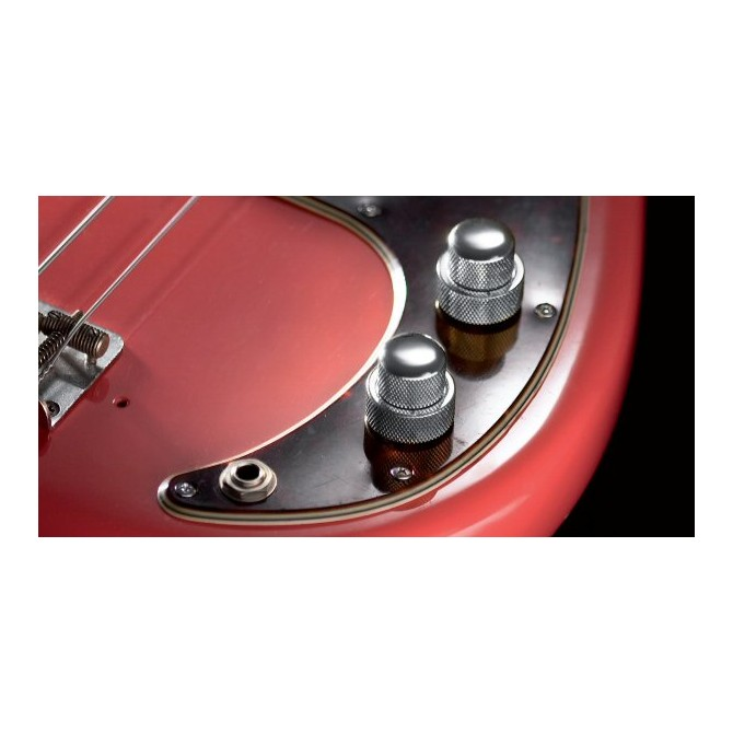 John East P Retro Vintage Chrome/Black Knob