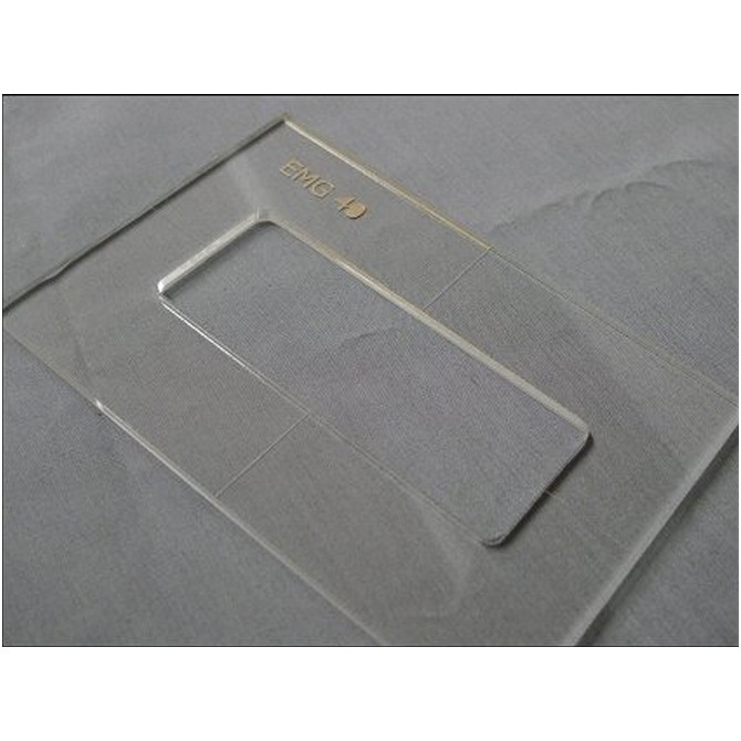 """Nordstrand 3/16"""" Thick Acrylic M4(EMG 40) Size Template"""