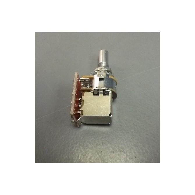 Glockenklang 500k Volume Potentiometer Audio Taper Push/Pull 6mm Solid Shaft