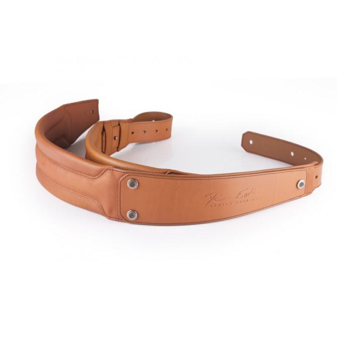 GruvGear DuoStrap Signature Tan Leather Ergonomic Double Strap