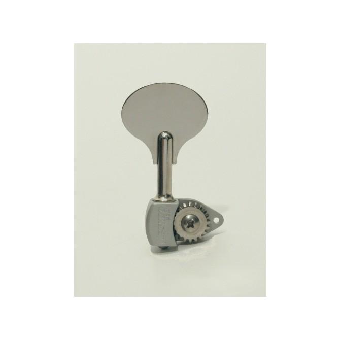 Hipshot Ultralite Tuner - HB6L-1/2 - Shiny Chrome - Bass Side