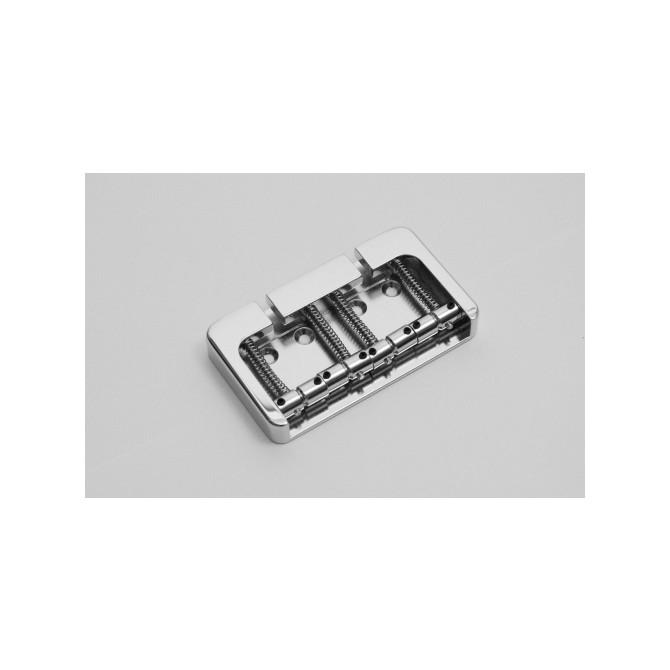 Hipshot BStyle 4String .812 Bass Bridge Aluminum Satin 20.5mm Spacing
