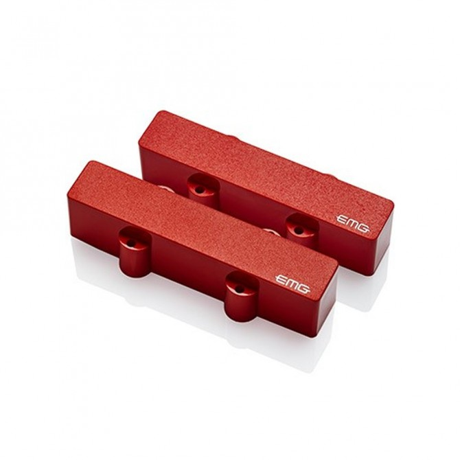 EMG J Pickup Set (Red)