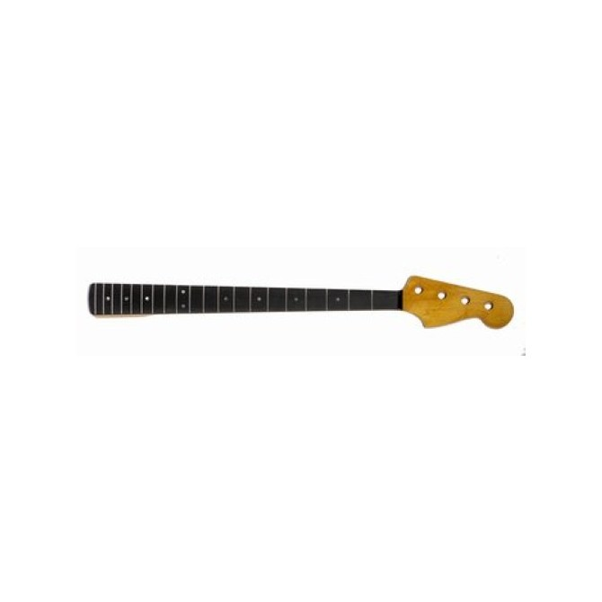 JEF - Replacement Neck for Jazz Bass - Neck for Bass Guitar