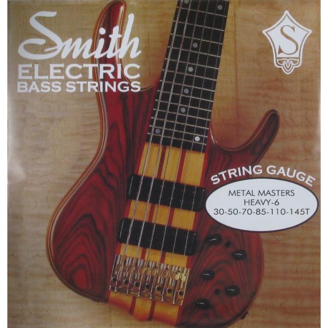 Ken Smith MMH-6T Metal Master Taper Core 6 String Heavy (30 - 50 - 70 - 85 - 110 - 145T) Long Scale