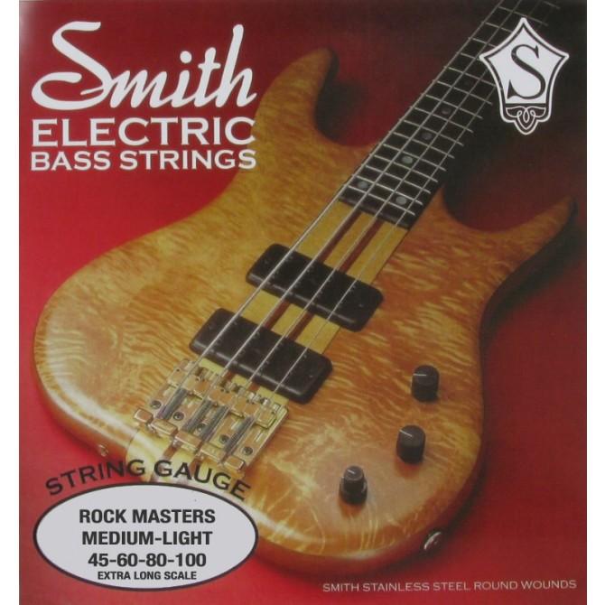 Ken Smith RMML-X Rock Master 4 String Medium Light (45 - 65 - 80 - 100) Extra Long Scale