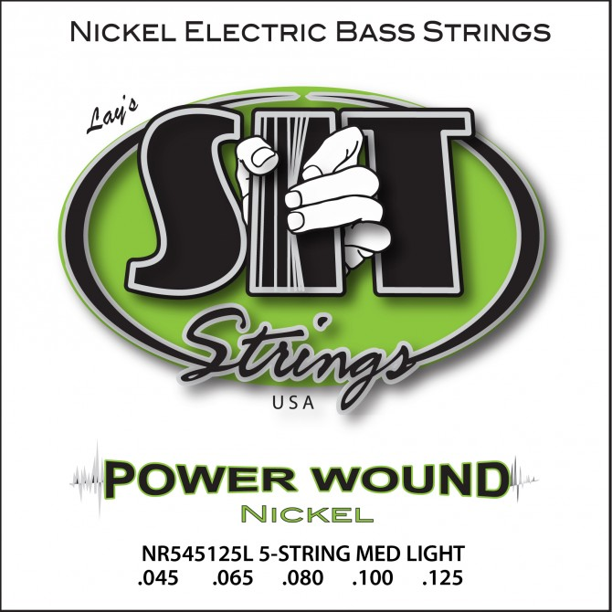 SIT NR5-45125L Power Wound Nickel 5 String Light (45 - 65 - 80 - 100 - 125) Long Scale