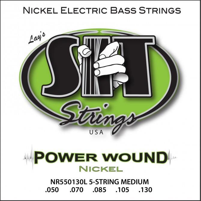 SIT NR5-50130L Power Wound Nickel 5 String Medium (50 - 70 - 85 - 105 - 130) Long Scale