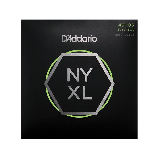 Daddario NYXL45105 4 String Light Top/Medium Bottom (45 - 65 - 85 - 105) Long Scale