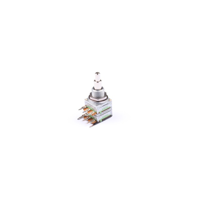 NOLL 50k EQ Potentiometer Linear Taper Stacked 4/6mm Solid Shaft