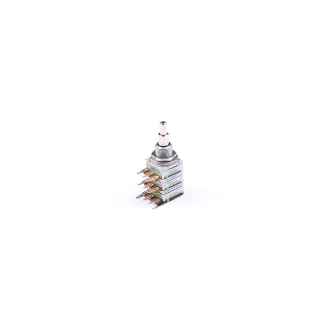 NOLL 500k/220k Volume/Blend Potentiometer Stacked 4/6mm Solid Shaft