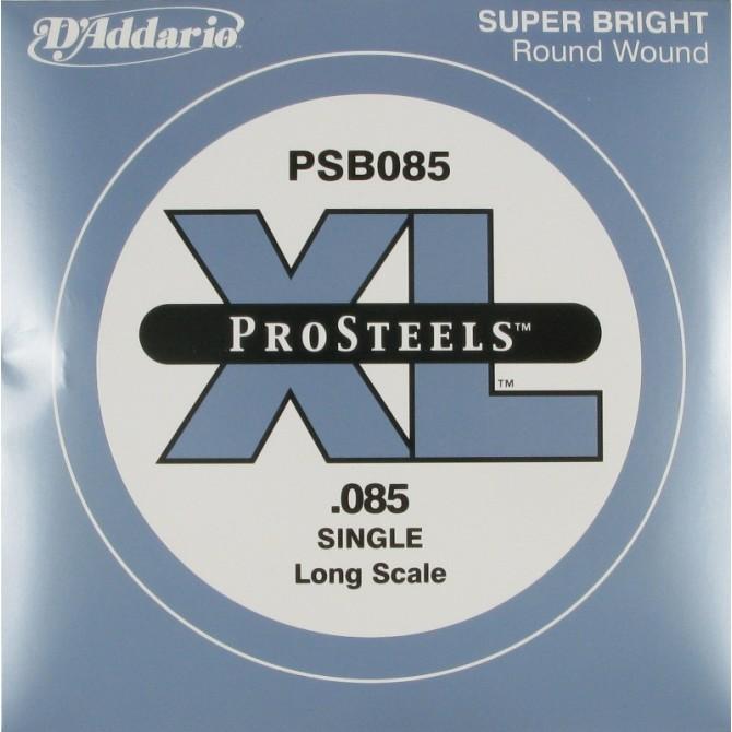 Daddario PSB085 ProSteels Single String 85 Gauge Long Scale