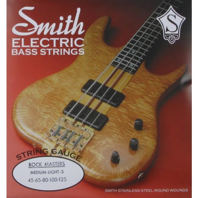 Ken Smith RMML-5 Rock Master 5 String Medium Light (45 - 65 - 80 - 100 - 125) Long Scale