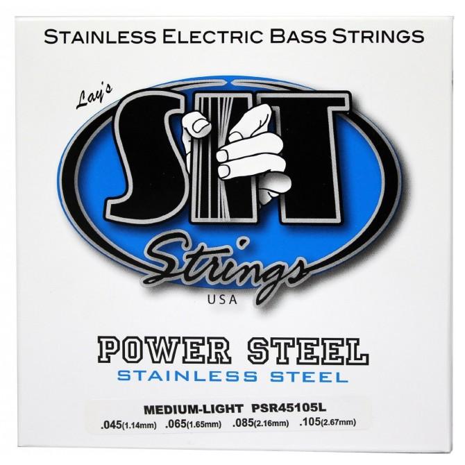SIT PSR-45105L Power Steel Stainless 4 String Medium Light (45 - 65 - 85 - 105) Long Scale