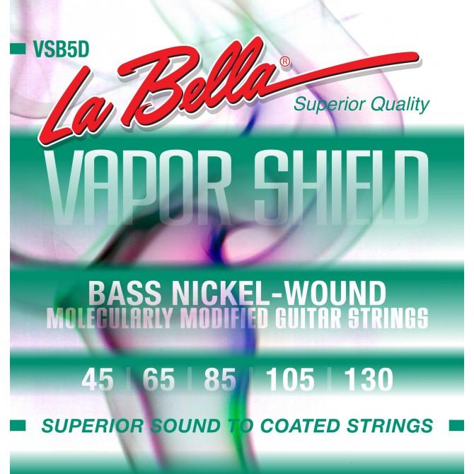 Labella VSB5D Vapor Shield 5 String Medium (45 - 65 - 85 - 105 - 130) Long Scale