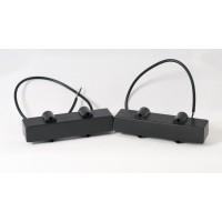 Delano JC4 HE/S 4 String Jazz L/S Size Single Coil Set
